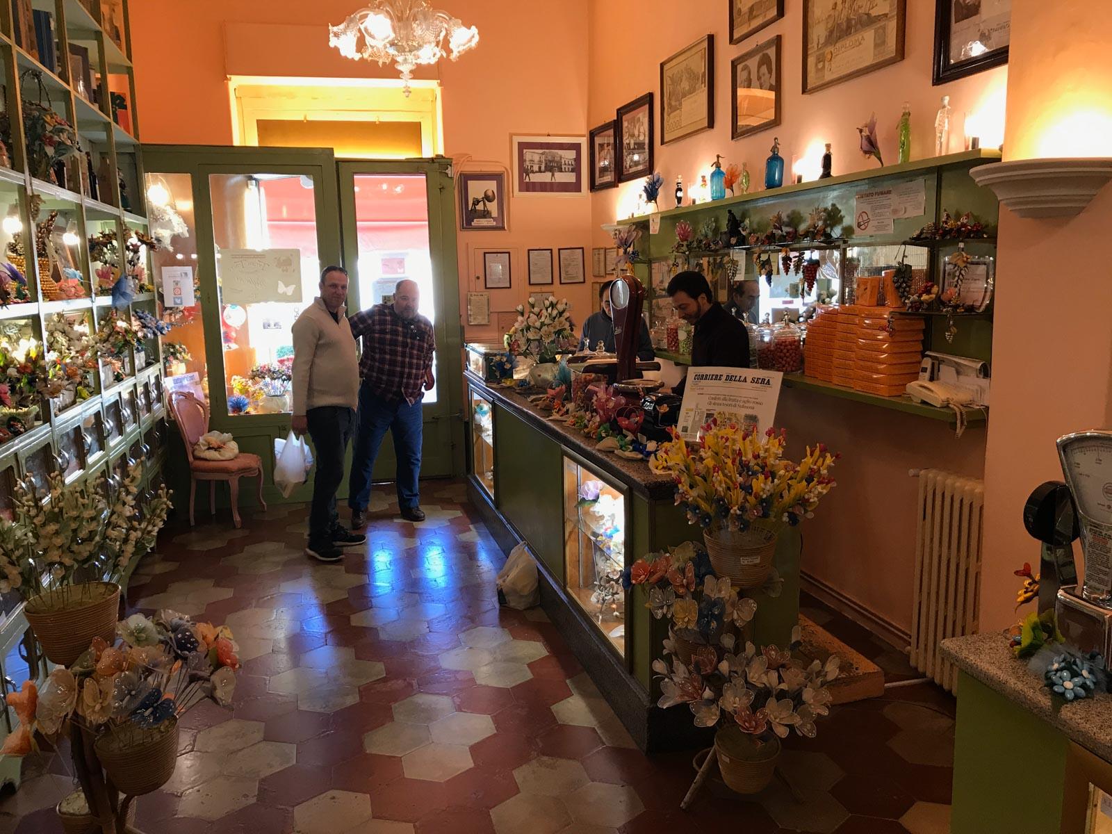 Confetti shop, Sulmona, Italy