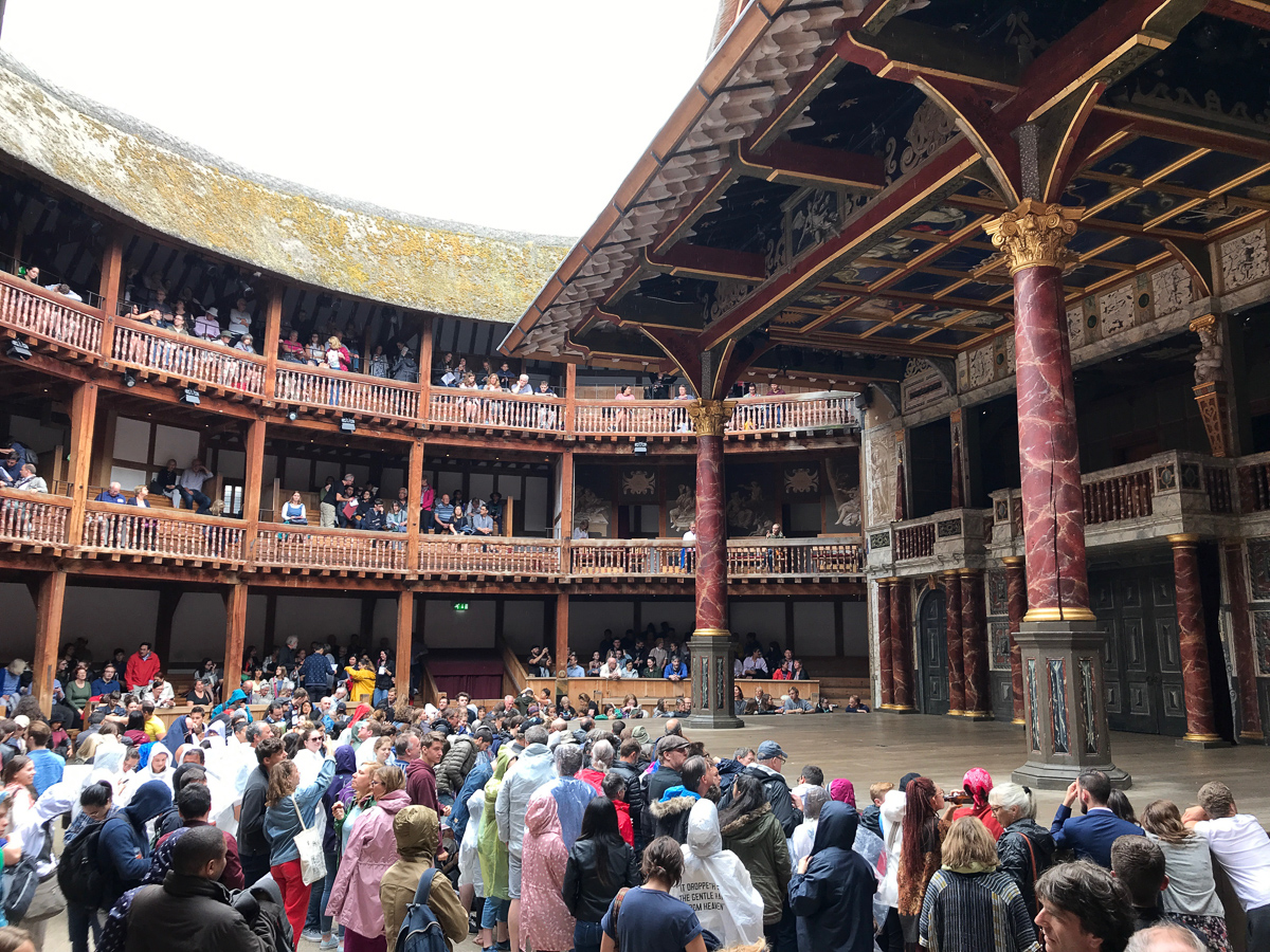 Hamlet, Shakespeare's Globe, 2018